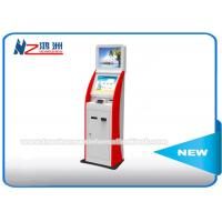 Wholesale 21 Inch Dual Screen Cerdit Card Dispenser Bill Payment Kiosk With Bill Validator from china suppliers