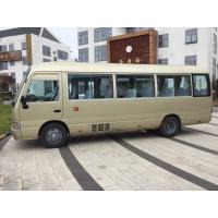 Buy cheap 29 seats used Toyota diesel coaster bus left hand drive   engine 6 cylinder   japan coaster bus toyota from wholesalers