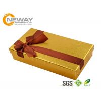 Wholesale Food Grade Paper Material Custom Gift Box for Chocolate Packaging from china suppliers