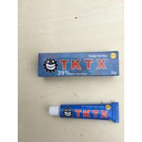 Wholesale No Blooding TKTX Tattoo Numb Cream 39% More Numbing 10g / Tube from china suppliers