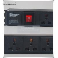 Wholesale Univeral PDU Cabinet Socket 8 Ways Server Rack PDU 10A Socket Switch Power Distribution Un from china suppliers