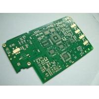 Wholesale FR4 Prototype HDI PCB Board Design 0.075mm 3mil  Min. Line , Red / Blue Silkscreen from china suppliers