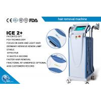 Quality Fast Pemanent E - Light Ipl + Rf Laser Hair Removal Machine Multifunction Cooling System for sale