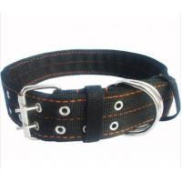 Wholesale nylon pet collar for dog black from china suppliers