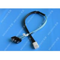 Wholesale Flexible SAS To 4x SATA Forward Breakout Cable 3.3 Feet 30 AWG Style from china suppliers