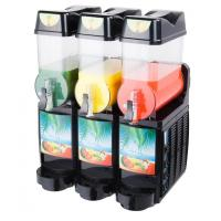 Wholesale 3 Flavor Commercial Ice Slush Machine 800w For Hotel 12L X 3 from china suppliers