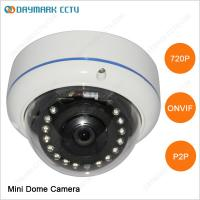 Wholesale IR Night Vision HD Outdoor Dome IP Camera 1280*720 from china suppliers