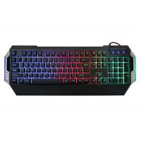 Wholesale Gk501 Low Profile Gaming Computer Keyboard Rainbow Backlit 104 Keys Oem / Odm Available from china suppliers