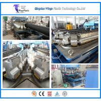 Wholesale HDPE Double Wall Corrugated Pipe Production Line On Sale from china suppliers
