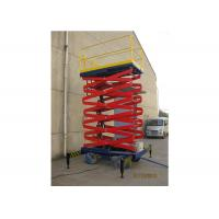 Wholesale Aluminum Alloy Mobile Aerial Work Platform 6m Max Height For Warehouses from china suppliers