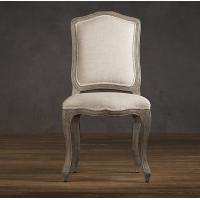 Wholesale Solid Wood Oak Fabric Dining Chair , modern contemporary dining room side chairs  from china suppliers