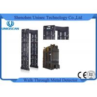 Wholesale 24 Independent zones walk through metal detector with waterproof IP65 standard from china suppliers