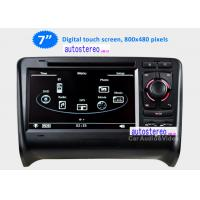 Wholesale Autoradio DVD In Car Sat Nav Systems Touch Screen for Audi TT Stereo from china suppliers