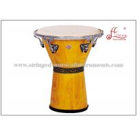 Wholesale Two ply white toon wood Percussion Musical Instruments Djembe Drums ISO9001 / CQM from china suppliers