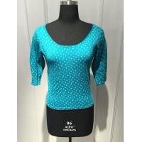 Wholesale Round Spot Short Sleeve Pullover Sweater , Floral Pullover Sweater BGAX16096 from china suppliers