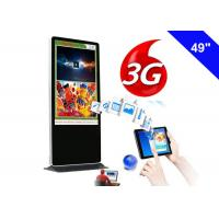Wholesale Kiosk 3g Network Digital Signage , Advertising Free Standing Digital Signage 3g from china suppliers