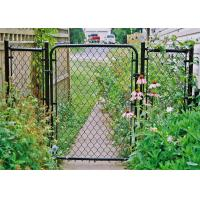 Wholesale green plastic fence, chain link fence mesh, cyclone wire mesh from china suppliers