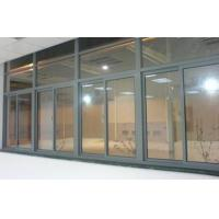 Wholesale Office Dark Grey Single Glass Slider Window  / Horizontal Interior Sliding Window from china suppliers