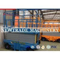 Wholesale Self - Propelled Vertical Scissor Lift Hydraulic Lifting Platform With CE Certification from china suppliers