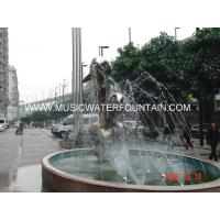 Wholesale Dolphin Stype Sculpture Water Fountains Stainless Steel Material Made from china suppliers