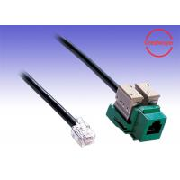 Wholesale RJ11 female to RJ11 cable adaptor Network Cable Telephony Voice Wiring from china suppliers