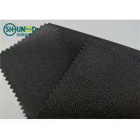 Wholesale Eco Friendly Drill Fusing Woven Interlining Broken Twill Weave For Garment from china suppliers