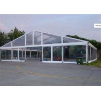 Buy cheap Clear Cover Fabric Large Wedding Catering Tent With Round Tables , Chairs from wholesalers