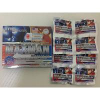 Wholesale Natural Herb MMC Maxman Male Enhancement Capsules / Pill Nutritional Supplement from china suppliers