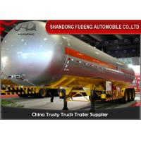 Wholesale Auto Cylindrical LPG Tank Trailer With Ellipse Head  50cbm Three Axles from china suppliers