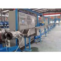 Professional Electric Wire Manufacturing Machine , Cable Extrusion Production Line