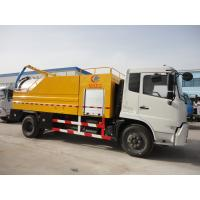Quality HOT SALE! high quality and best price Tianjin Euro 4 180hp 12 tons sewer cleaning truck.sewer and cleaning vehicle for sale