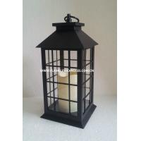 Wholesale Outdoor Battery Operated Flameless Candle Lanterns With Unique Grid Design from china suppliers