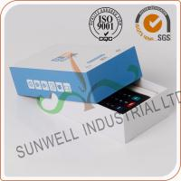 Cardboard Handmade Electronics Packaging Boxes For Counter Packing Custom Printed