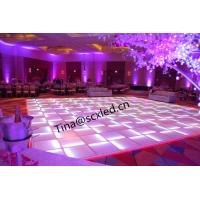 Wholesale Ip50 Transparent Glass Rgb Led Dance Floor For Wedding Party Clun Decora from china suppliers