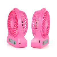 Wholesale Summer Time 5v Rechargeable Hand Held Fan Small Desktop Fan Plastic from china suppliers