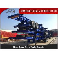 Wholesale FUWA Axle Steel 40ft Chassis Container Trailer Mechanical Suspension from china suppliers