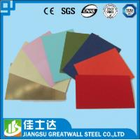 Wholesale Grade CCGC PPGI Steel Coil Corrugated Roofing Sheets , Red / Green / Blue from china suppliers