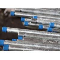 Wholesale Mechanical Equipment Galvanized Round Welded Steel Pipe , 6 Inch Schedule 40 Steel Pipe from china suppliers