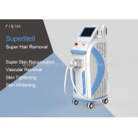 Wholesale 4 In 1 Opt Shr Hair Removal Machine Nd Yag Laser Tattoo Removal Machine from china suppliers