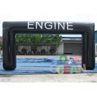 Wholesale Black Large Advertising Inflatables Customized Engine Inflatable Arch Tent For Events from china suppliers