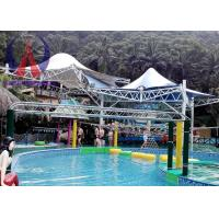 Wholesale Colorful Fabric Tensioned Membrane Structures For Aqua Park Shade Metal Frame from china suppliers