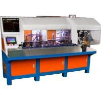 Wholesale AC220V / 50Hz Automatic Wire Crimping Machine French Plug Insert from china suppliers