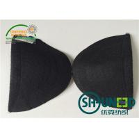 Wholesale Garment Accessories Womens Shoulder Pads White / Black Color For Apparel Industry from china suppliers