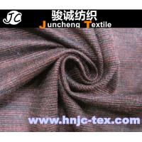 Quality 100% polyester plaid cotton imitation velvet fabric/ cloth Imitation Cotton Velvet for sale