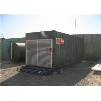 China Shower Sanitary Shipping Container House Construction With Electric Generator on sale
