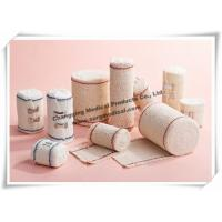 Wholesale Medical Firm Crepe High Stretch Compression Bandage For Emergency Injuries First Aid Treatment from china suppliers