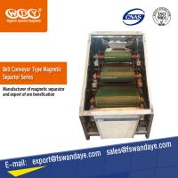 Quality High Gauss Electro Magnetic Separator Machine Belt Conveyor For Iron Ore for sale