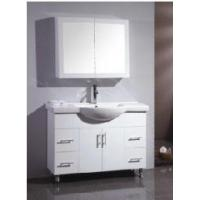 Wholesale Elegant Free Standing High Gloss White Color MDF Bathroom Vanity (BL-G1200B) from china suppliers