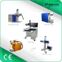 Wholesale 20w /30w/50w Industrial Laser Marking Machine Laser Wire Cable Pipe Printer from china suppliers