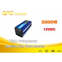 Wholesale 2000W DC to AC UPS Modified Pure sine wave inverter with battery charger from china suppliers